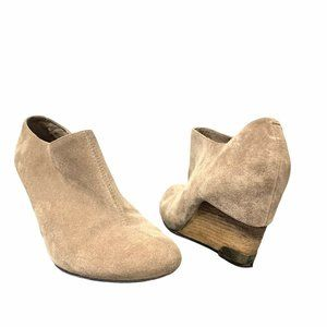 Vince Camuto | Hamil Suede Ankle Bootie Wedge- 9.5